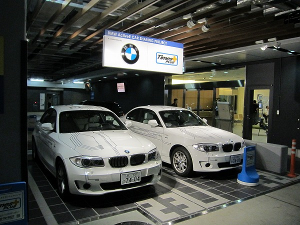 ActiveEの外観 BMWの電気自動車