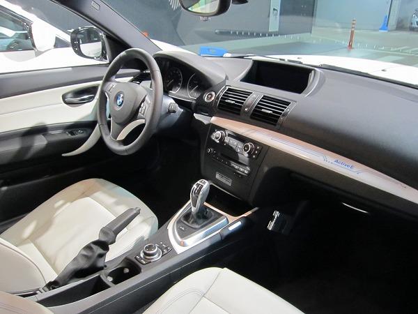 BMWの電気自動車 ActiveEのシート
